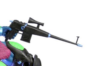 X-Man Assault Rifle (Trap Jaw version) in White Strong & Flexible Polished