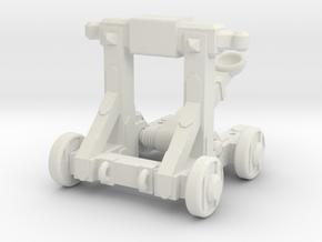 Rubber Band Catapult Mk. 2 in White Natural Versatile Plastic