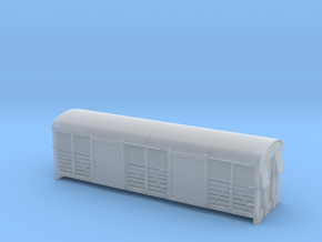 LMS 6 Wheel Milk Van body slat sides - 4mm scale in Frosted Ultra Detail
