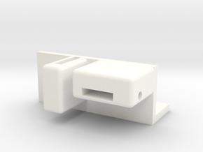 DJI 2.4GHz BT Datalink Aerial 90 Degree Holder in White Processed Versatile Plastic