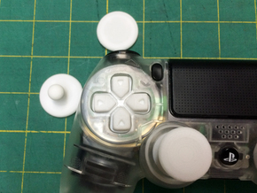 DS4 Modular Dpad in White Strong & Flexible