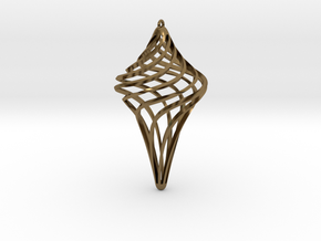 Star Ornament in Polished Bronze