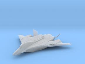 Flight aircraft carrier Type B  WATERLINE (1/3000) in Smooth Fine Detail Plastic