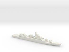 PLA[N] Type 053H3 Frigate, 1/2400 in White Natural Versatile Plastic