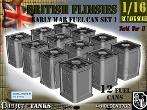1-16 British Flimsies Can Set1 in Smooth Fine Detail Plastic
