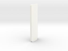 Yoda Grip in White Processed Versatile Plastic