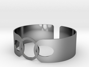 Link Bracelet in Fine Detail Polished Silver