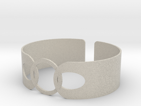 Link Bracelet in Natural Sandstone
