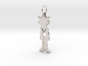 Yugi Pendant in Platinum