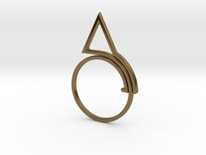 3-tc in Polished Bronze