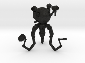 Mr. Handy Robot Large in Black Acrylic