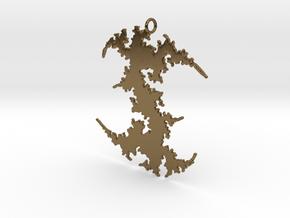 Julia # (Sharp) Pendant in Polished Bronze