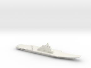 INS Vikramaditya, 1/3000 in White Natural Versatile Plastic