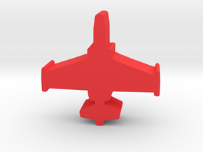 Game Piece, Red Force Frogfoot Aircraft in Red Processed Versatile Plastic
