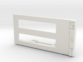 A-1-12-wagon-c-class-bogie-1a in White Natural Versatile Plastic