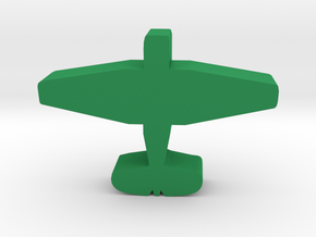 Game Piece, WW2 Avenger Bomber in Green Processed Versatile Plastic