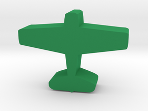 Game Piece, WW2 Hellcat Fighter in Green Processed Versatile Plastic