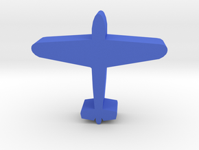 Game Piece, WW2 Me109 Fighter in Blue Processed Versatile Plastic