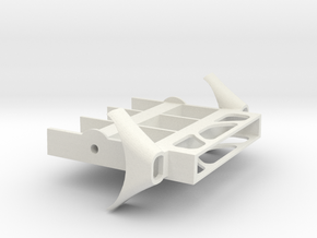 12-25-15 Engine  in White Natural Versatile Plastic