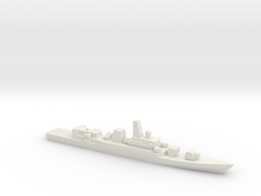 PLA[N] Type 053H2G Frigate w/ Barrels, 1/3000 in White Strong & Flexible