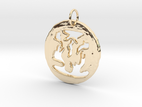 Pendant in 14K Yellow Gold