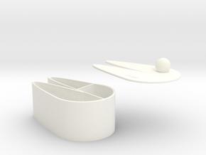 CASE個性置物盒 in White Processed Versatile Plastic