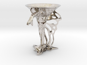 Lux Draconis 007  in Rhodium Plated Brass