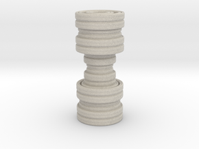 Fractality Chess - Rook in Natural Sandstone