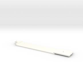 Bodenplatte GTW Mittelwagen Scale TT in White Processed Versatile Plastic