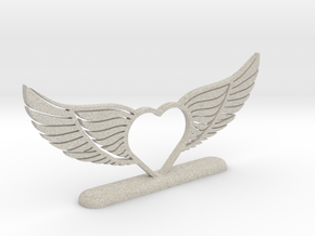 Wing-02 Accessory in Natural Sandstone
