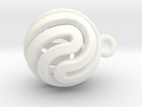 Ball-smaller-14-2 in White Processed Versatile Plastic