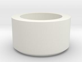 OD Fundus  - Tension Screw Cap in White Natural Versatile Plastic