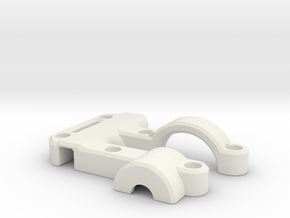 OD Fundus  - Clip Mirror in White Strong & Flexible