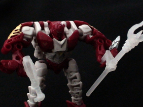Transformers Hun-Gurrr 3mm Trident in Smooth Fine Detail Plastic