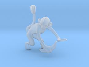 3D-Monkeys 051 in Smooth Fine Detail Plastic