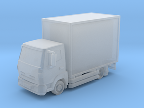 Truck 01. Z Scale (1:220) in Frosted Ultra Detail