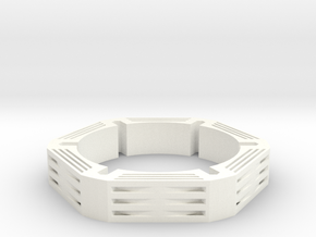 Neo Bracelet 1 in White Strong & Flexible Polished