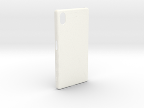 Customizable Xperia Z5 case in White Processed Versatile Plastic