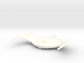 War Bird in White Processed Versatile Plastic