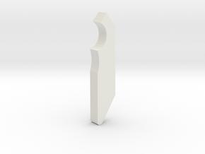 11th Doctor Matt Smith Sonic Screwdriver Claw in White Natural Versatile Plastic