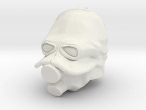 Custom Combine Soldier Inspired Helmet for Lego in White Natural Versatile Plastic
