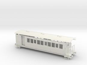 Selsey Tramway Falcon bogie coach brake 00 Gauge in White Natural Versatile Plastic