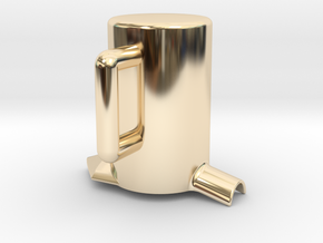 Times merge Cup in 14K Yellow Gold