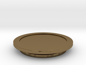 Modeling Coasters in Polished Bronze