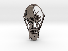 Ming the Merciless  in Polished Bronzed Silver Steel