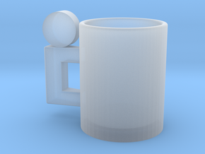 Cup in Smooth Fine Detail Plastic
