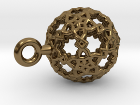 Sphere-132-small in Polished Bronze