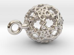 Sphere-132-small in Platinum