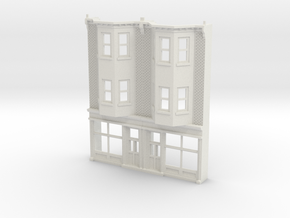 WEST PHILLY 3S ROW STORE Twin 160 Brick in White Natural Versatile Plastic
