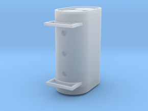 Oscalefueltank in Smooth Fine Detail Plastic
